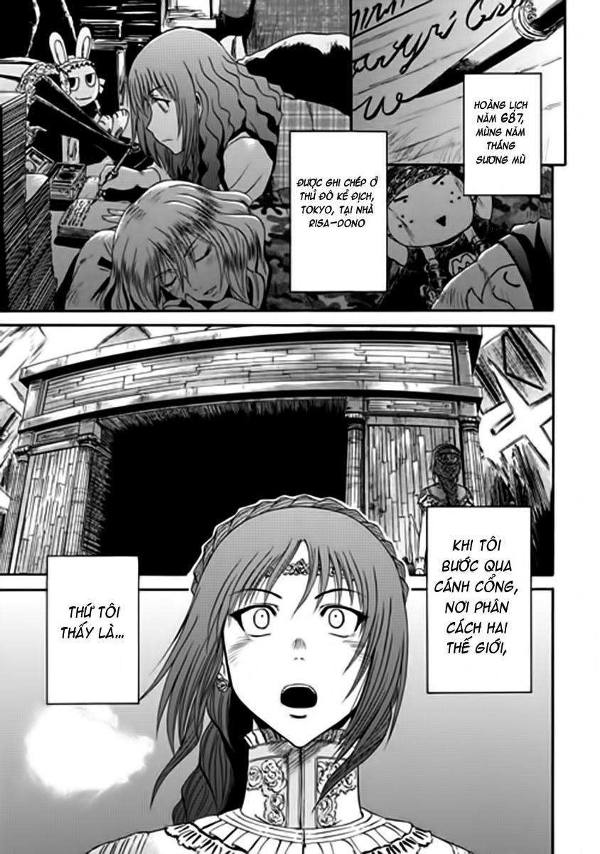 Gate – Jietai Kare no Chi nite, Kaku Tatakeri chap 17 Trang 1 - Mangak.info