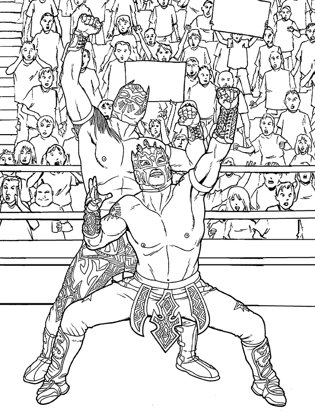 Wwe Wrestling Coloring Pages Cheap Free Wrestling Coloring Pages