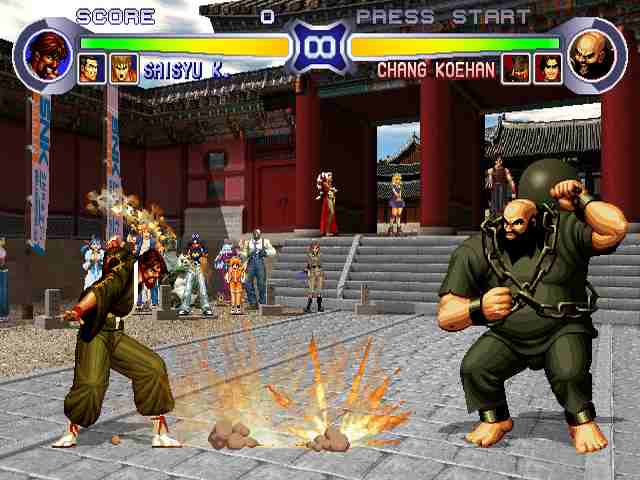 king of fighter 97 plus game free  for pc full version