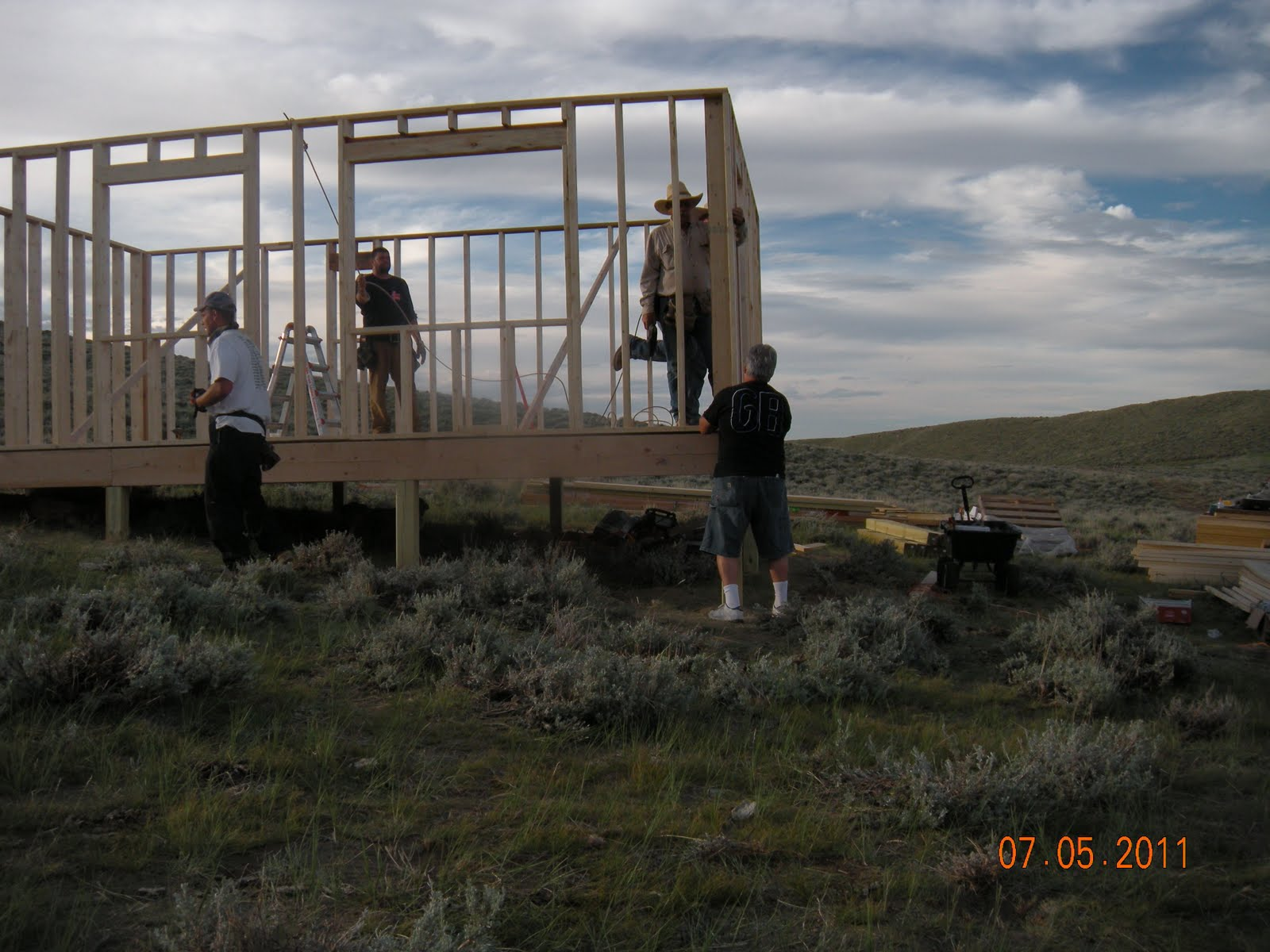 Modern homesteading and green living building a small off for Modern homesteading