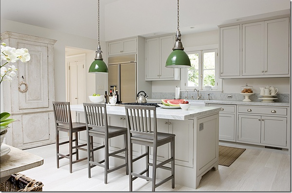 A little kitchen inspiration home design ideas for Hardwick white kitchen cabinets
