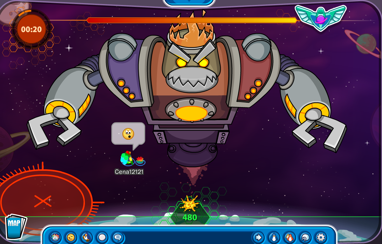 Club Penguin Future Party Ultimate Protobot