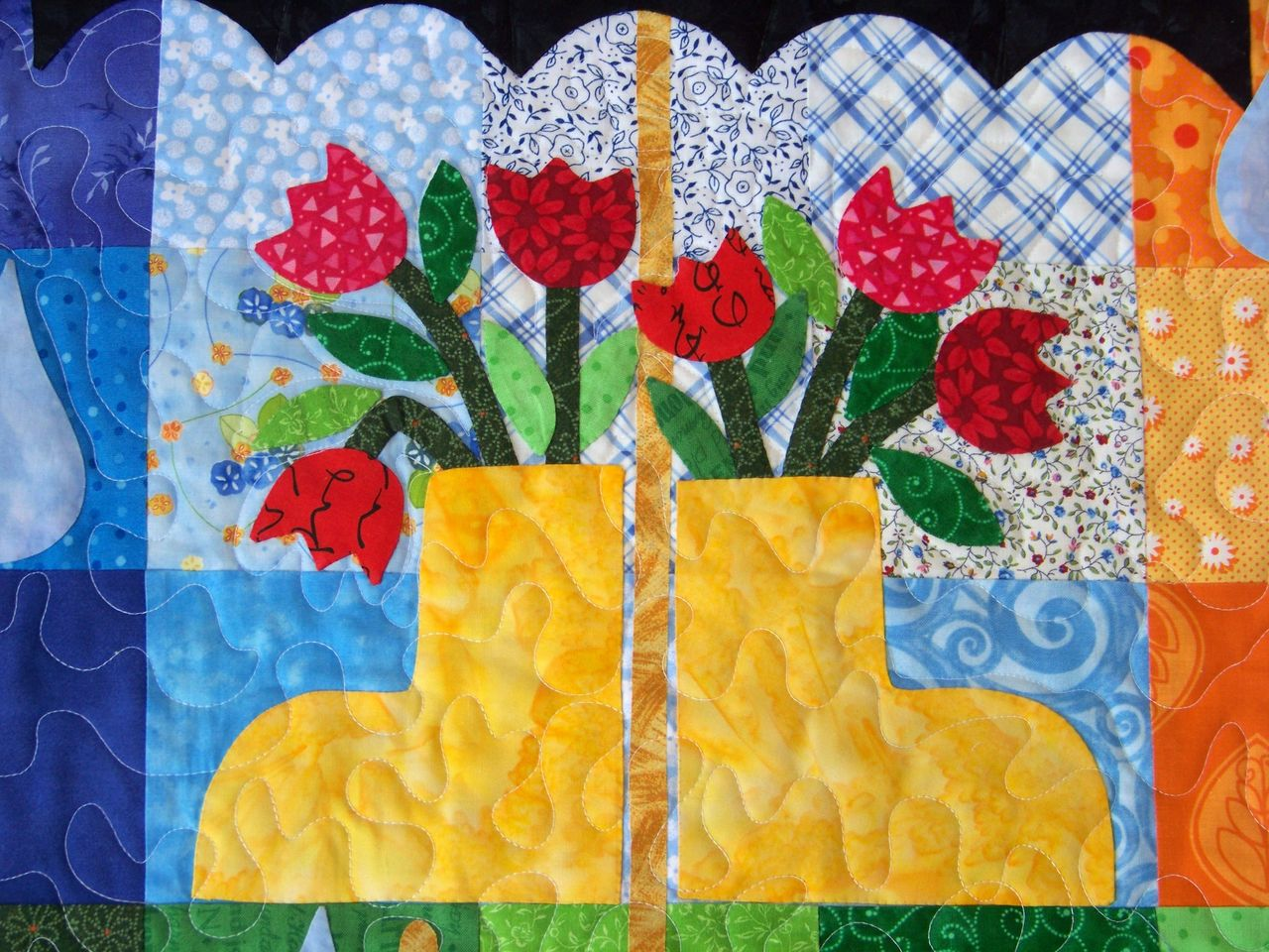 Attic Window Quilt Shop: MY FRIDAY FINISH IS MY APRIL LOVE