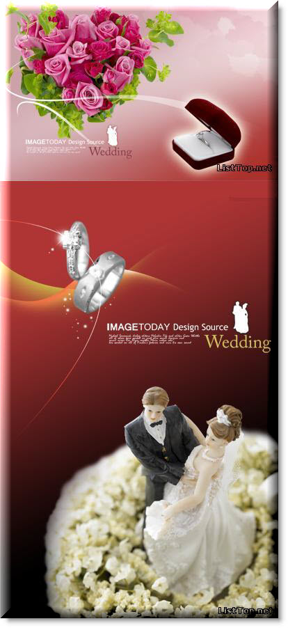 wedding psd templates 3 2 psd 4000 2600 300 dpi 41 5 мb