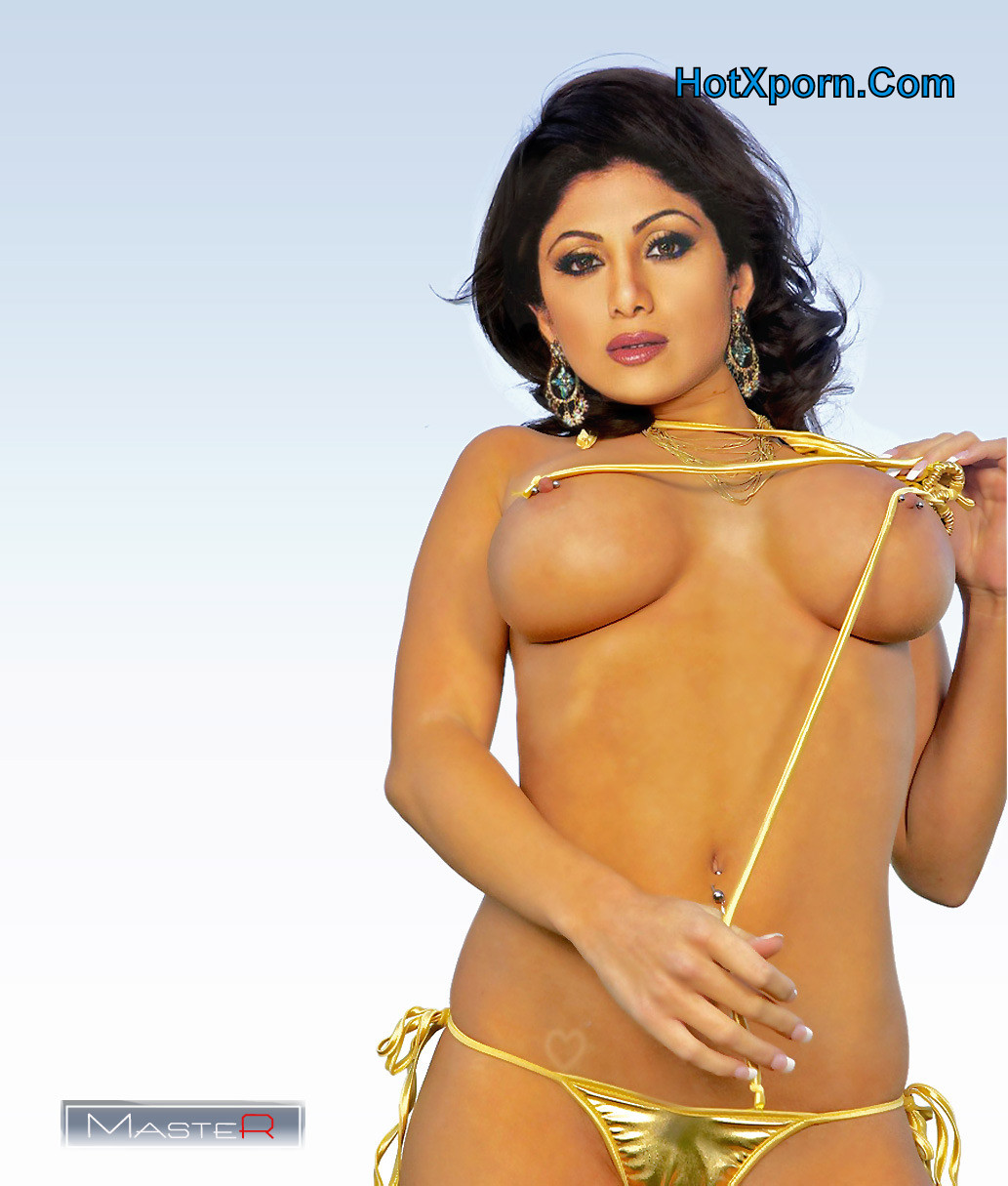 Actress Shilpa Shetty Nude Photoshoot Showing Her Boobs Fake | Big ...