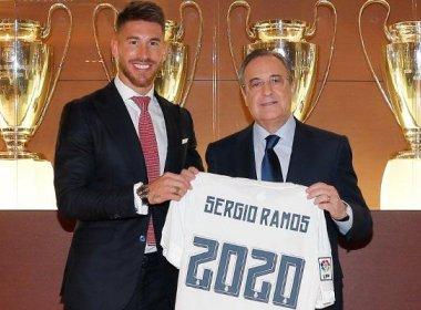[feature] Real Madrid anuncia renovação de Sergio Ramos até 2020