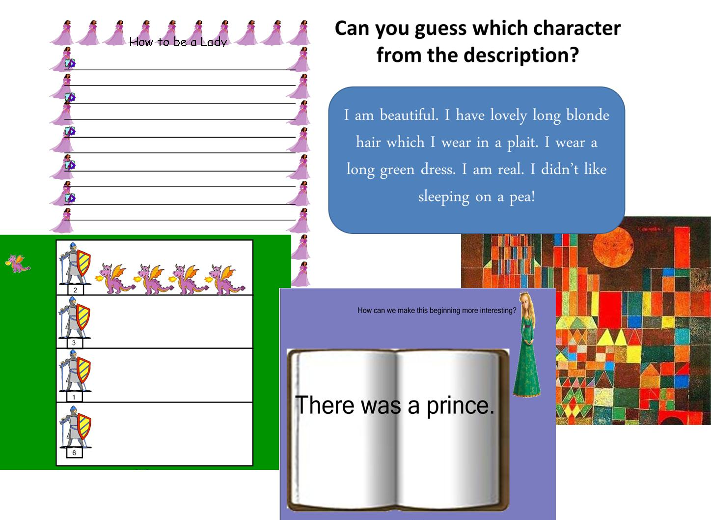 Teaching Resource Fairy Tales And Castles Role Play Literacy Ks1