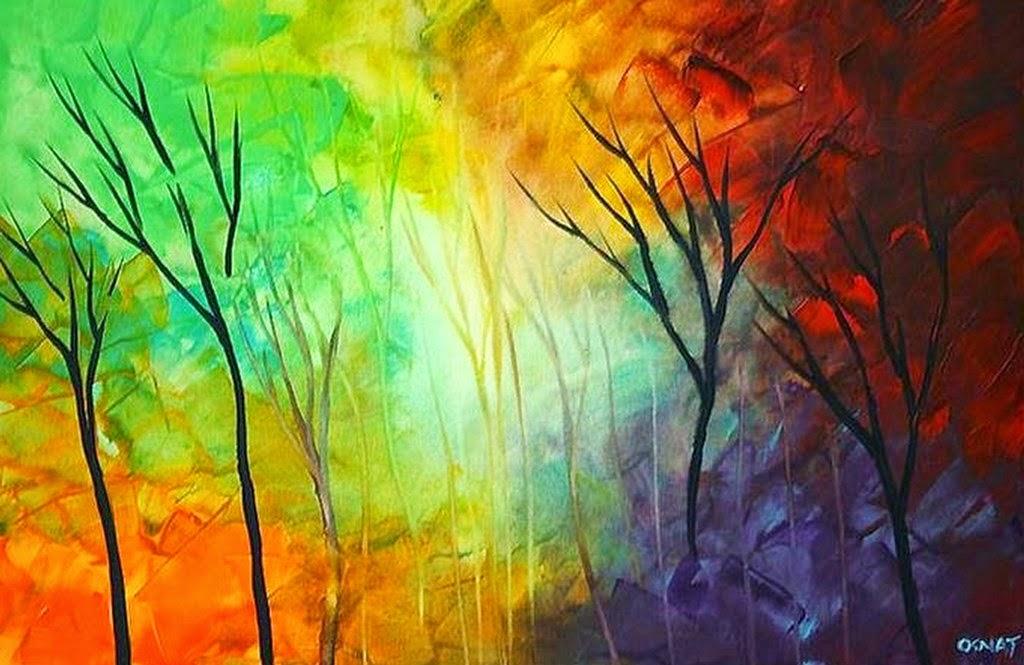 Cuadros modernos pinturas y dibujos cuadros de flores en for Imagenes de cuadros abstractos faciles de hacer