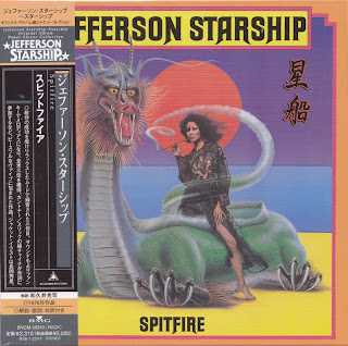 JEFFERSON STARSHIP - SPITFIRE (GRUNT/RCA 1976) JVC K2 mastering cardboard sleeve