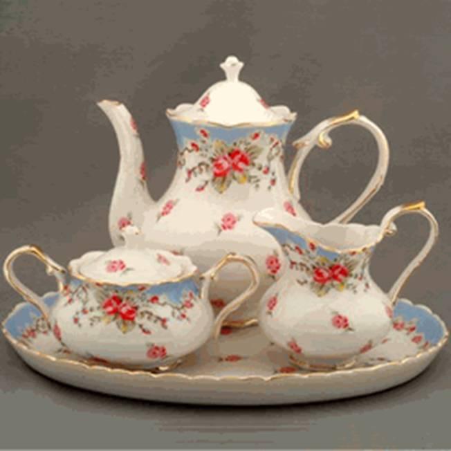 Oh So Adorable Vintage Tea Set : Down Memory La La Lane: Back to Tea Tuesday