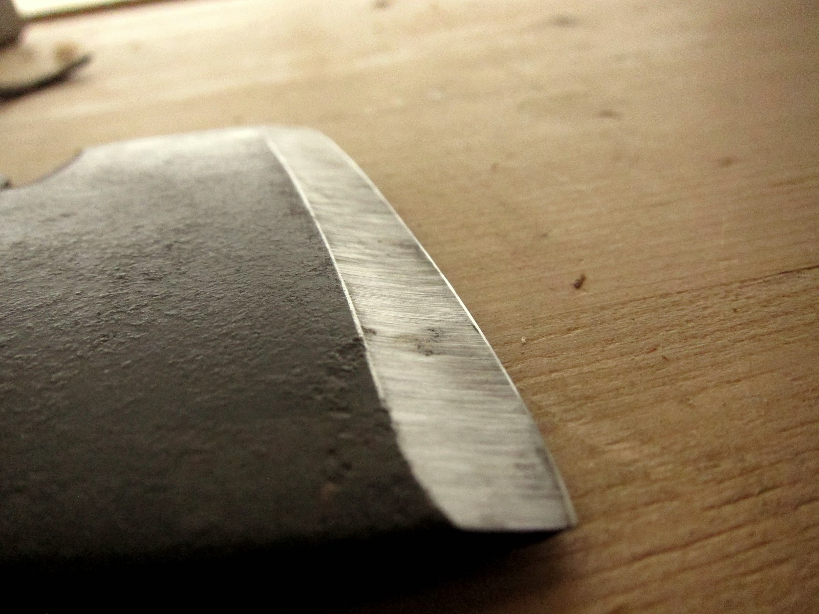 tim manney chairmaker  carving axe part 2  edge geometry