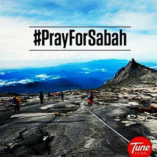 #Pray For Sabah
