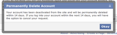 Now Facebook provides You a Grace Period. Within these 14 days if ...