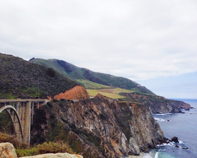 http://en.wikipedia.org/wiki/Bixby_Creek_Bridge