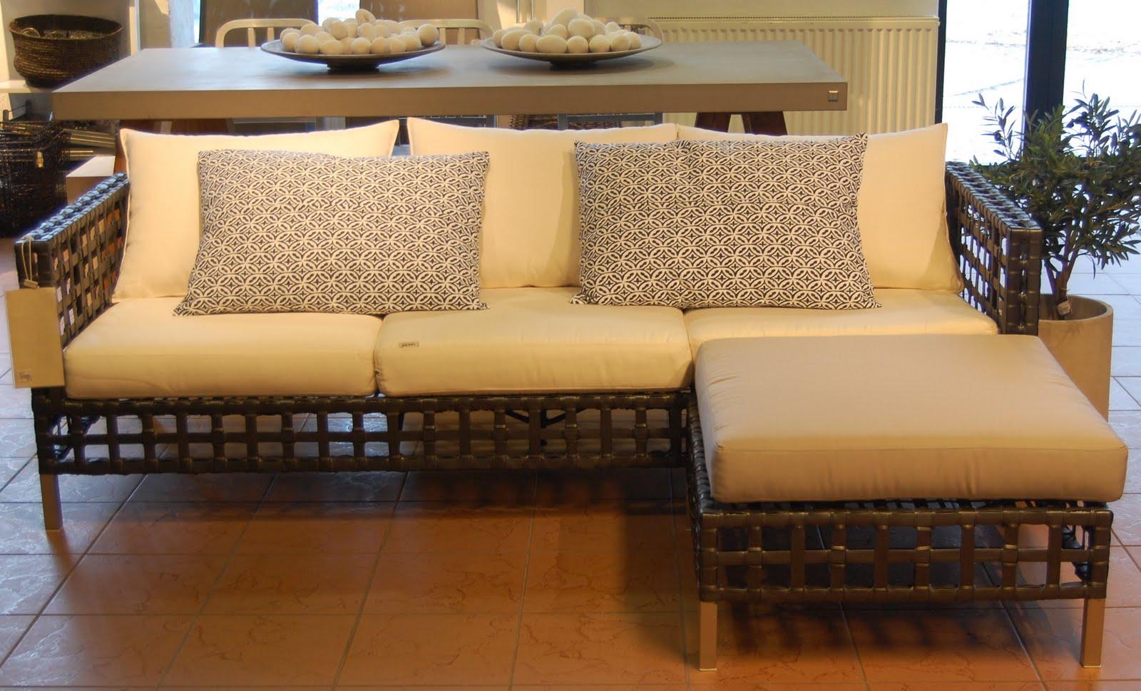 Flow sofa m pute fra cane line 15 500