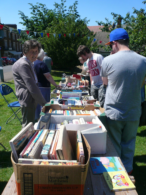 church fair book stall