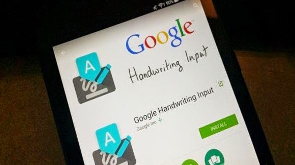 تطبيق Google Handwriting Input للكتابة بخط اليد لأجهزة أندرويد