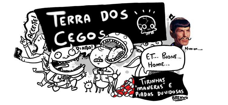 terra dos cegos