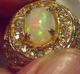 Batu Natural Kalimaya Kristal Top Jarong Playing Color