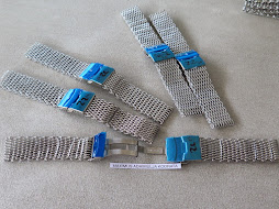 MESH BRACELET STAINLESS STEEL 20mm - 22mm