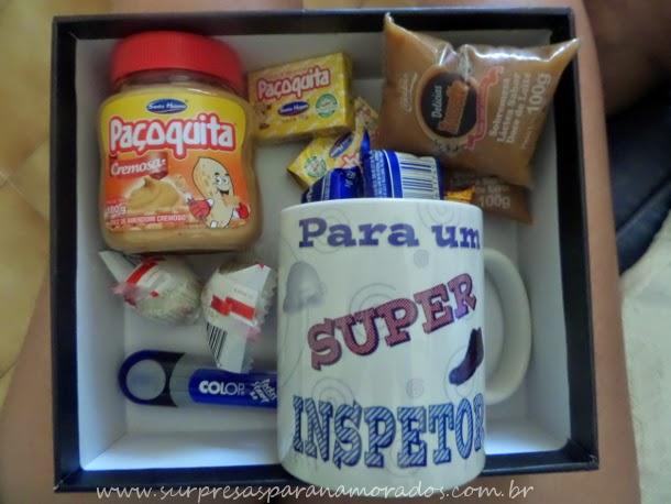 caixa com presentes