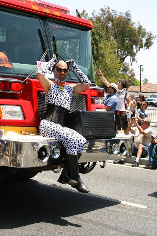 Billy Francesca West Hollywood Pride Parade 2014