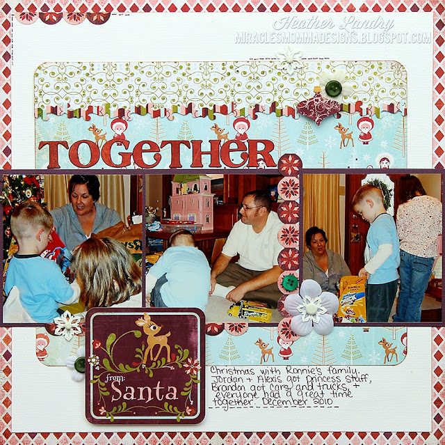 Family_Christmas Celebration_Scrapbook Layout