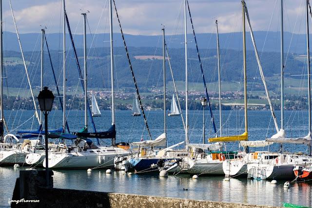 Yvoire, Haute-Savoie, France, Lac Léman, Suisse