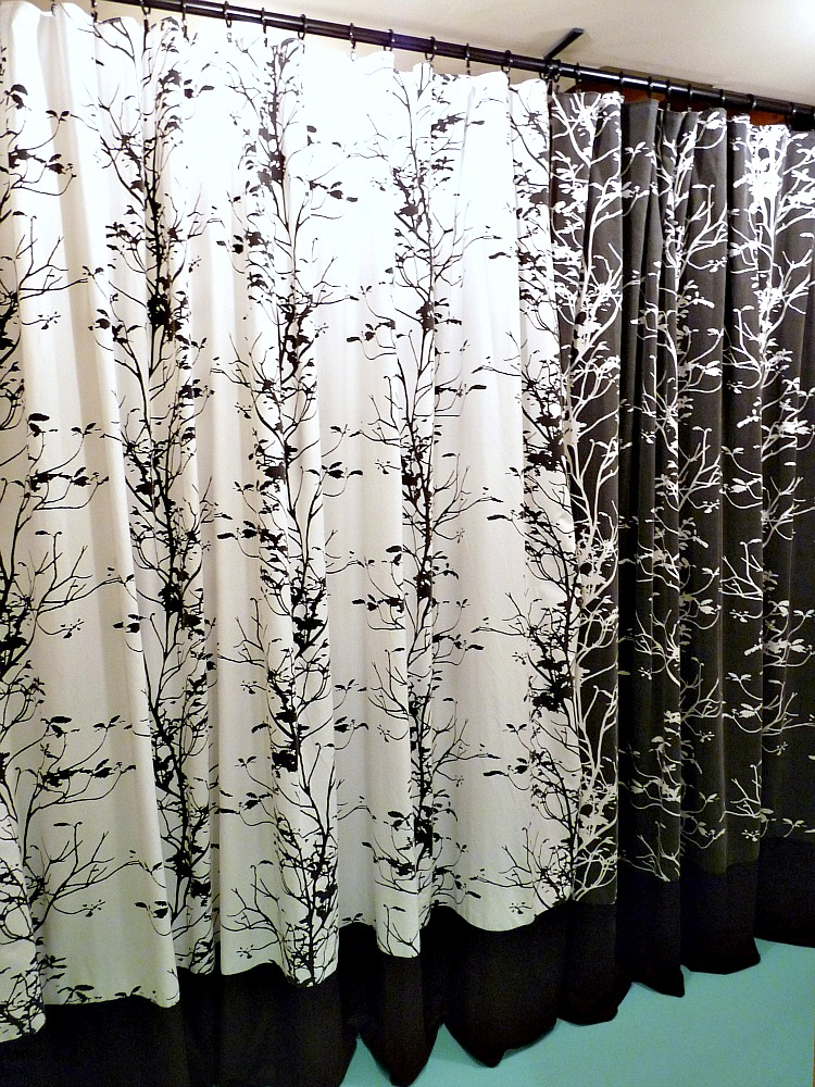 Laundry room curtains