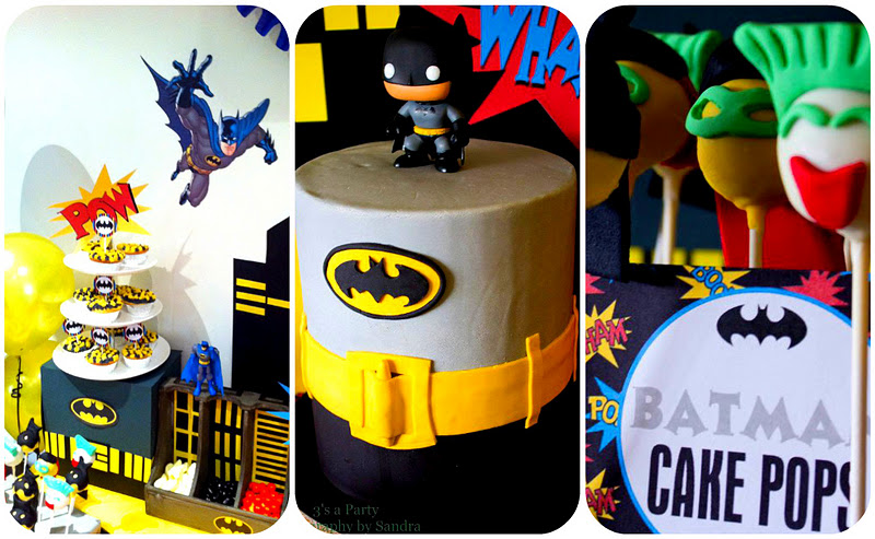 batman birthday invitations