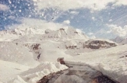 Ladakh photograph used as reference to create thumbnail sketch by Manju Panchal