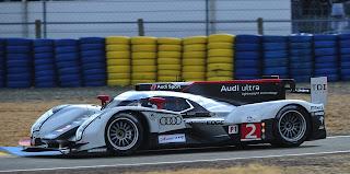Audi R18 TDI n°2 Tag Heuer vainqueur 24H du Mans 2011