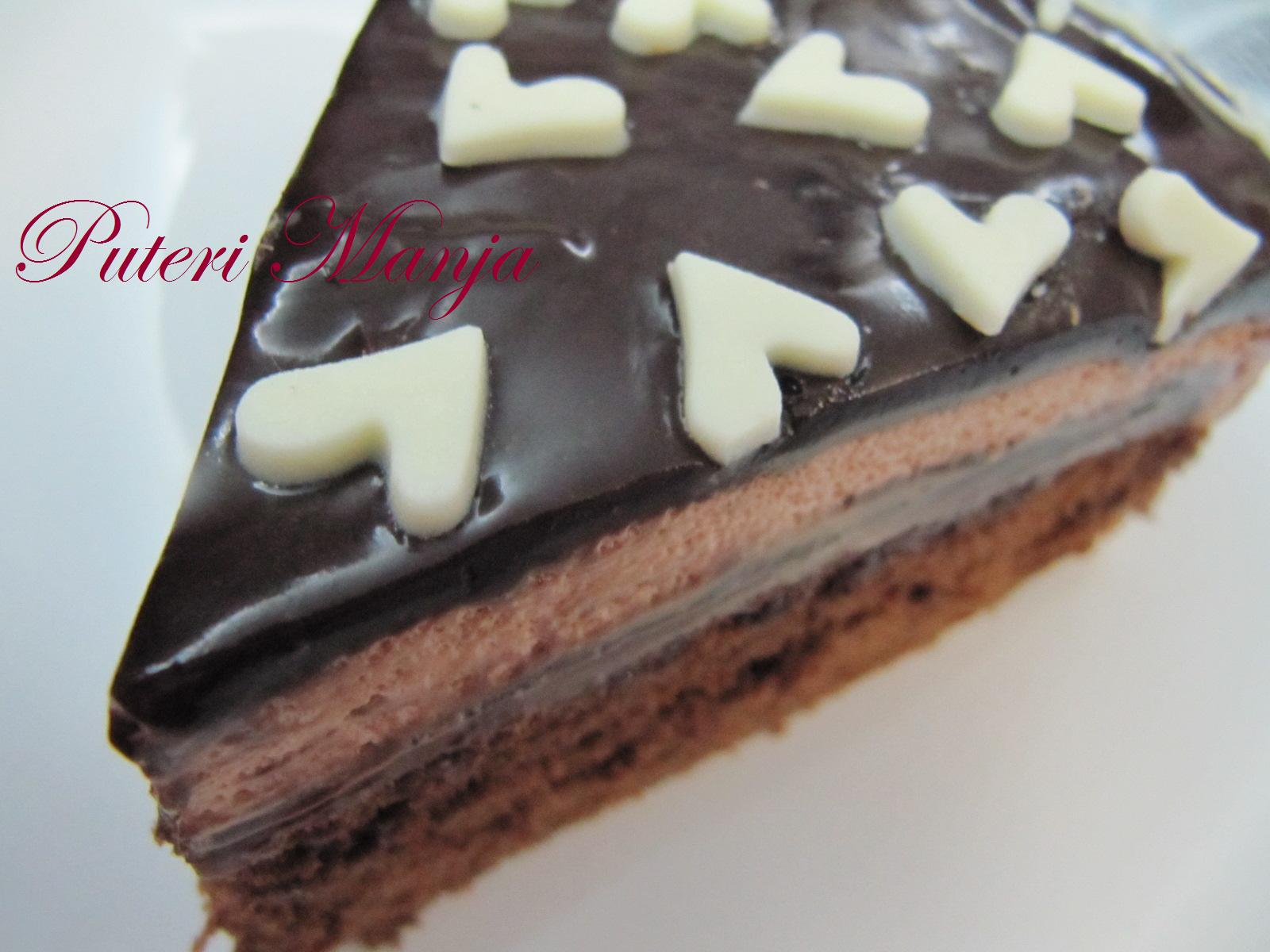 Rasa Rasa Selera Puteri Manja Kek Span Coklat With Ganache