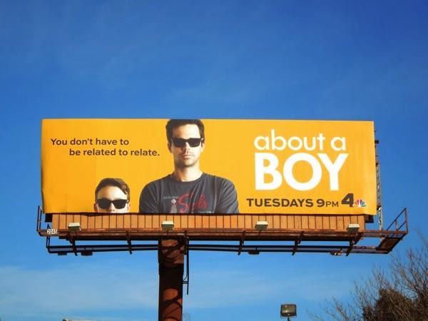 About a Boy TV remake billboard