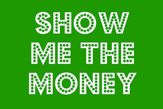 free show me the money printable