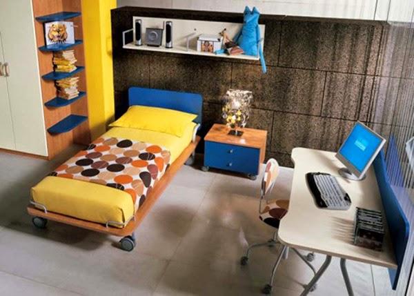 Teen's Bedroom Interior Design Ideas