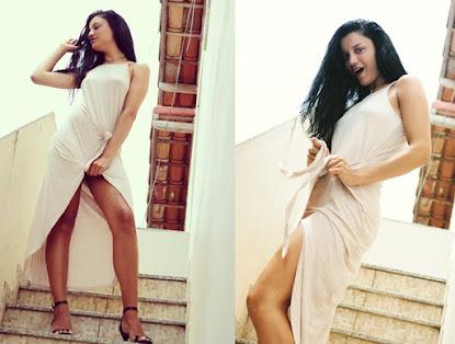 A modelo Amanda Souza faz novo ensaio fotográfico e arrasa mais uma vez na sensualidade