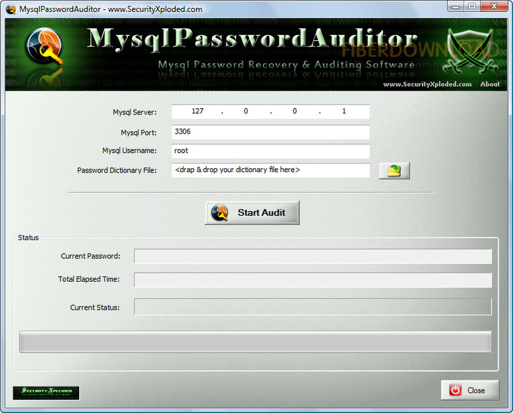 My Sql Password Auditor