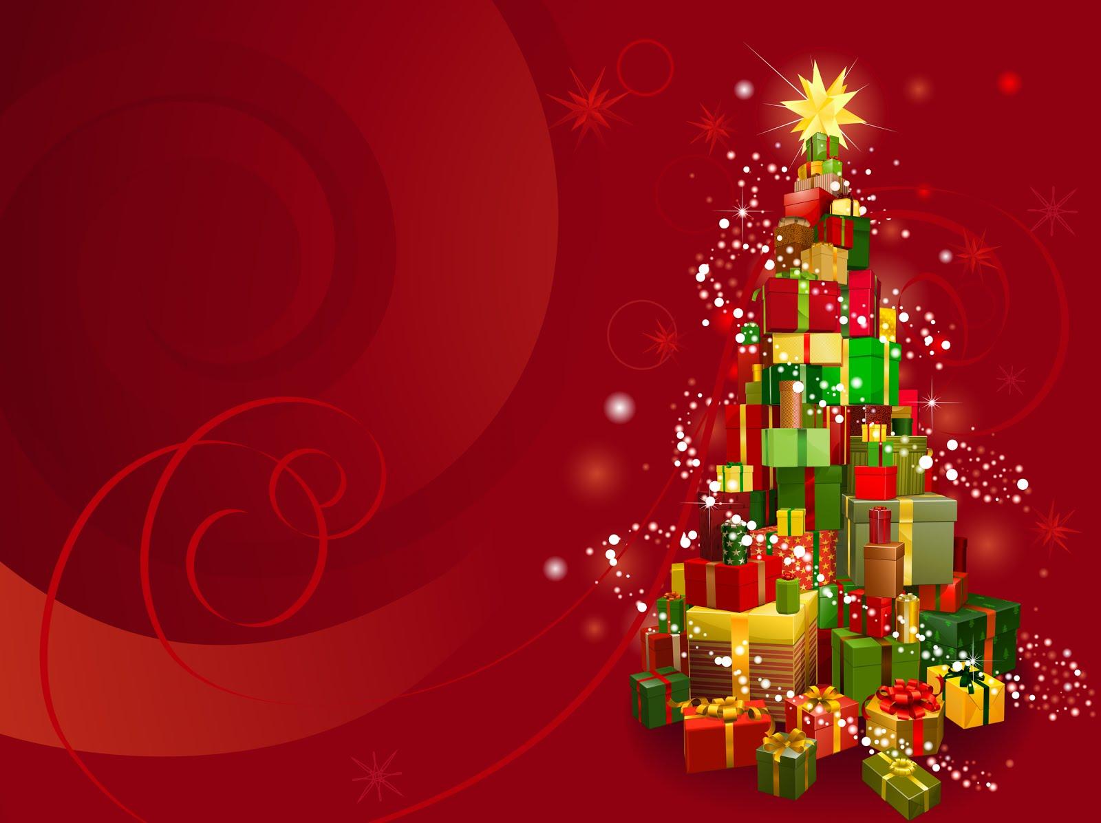 Postal navideña con mensaje de fin de año  BANCO DE IMAGENES
