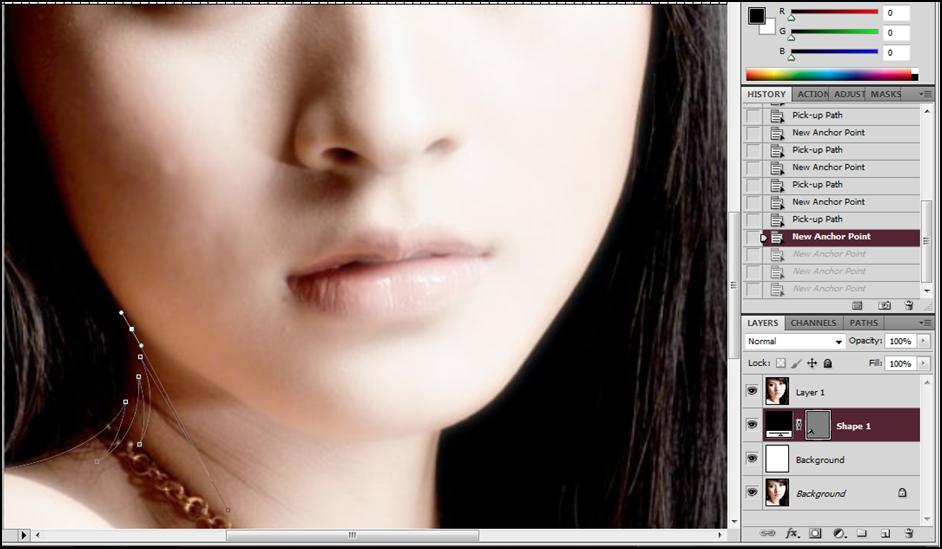 Tutorial  Vexel dengan Photoshop