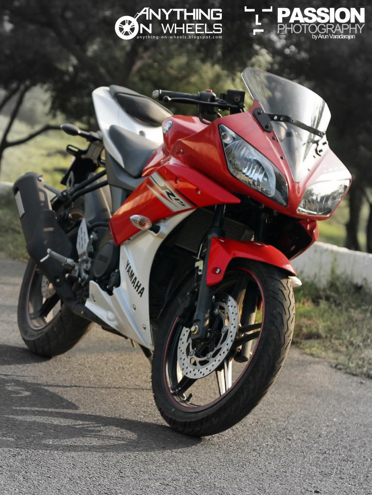 Anything On Wheels Driven 8 Yamaha Yzf R15 V2 0