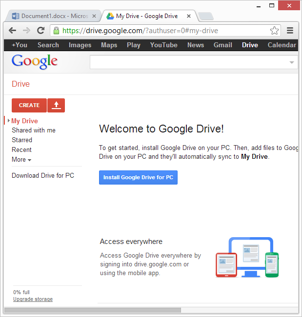 Microsoft office webapps vs google docs technology for Google docs word 2013
