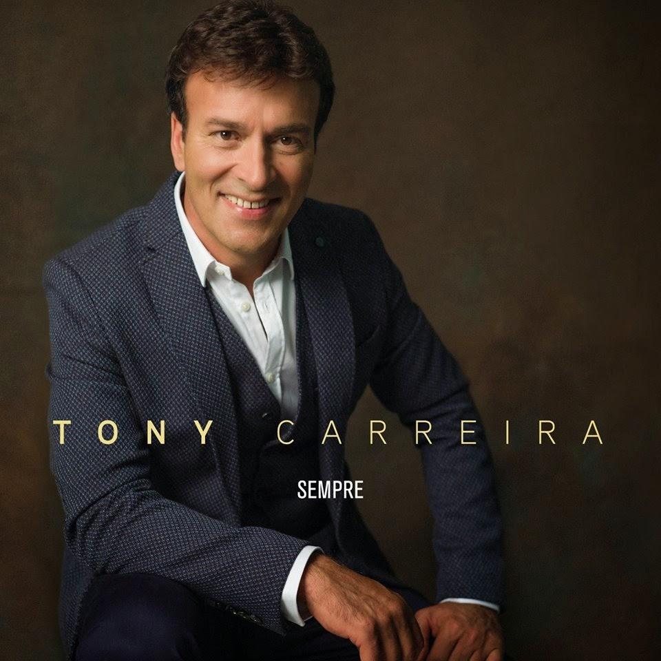 """A capa do novo cd de Tony Carreira """"Sempre"""""""