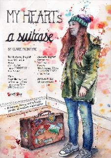 Suitcase poster