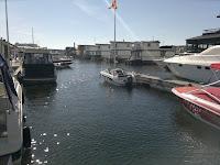 Pampas Marina! Här syns några av de flytande villorna.