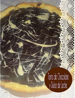receta fácil de tarta de chocolate y dulce de leche