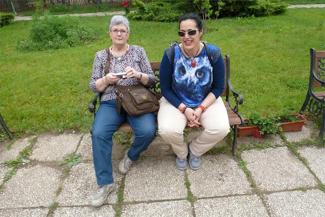 Descansando a la salida del Museo de La Aldea