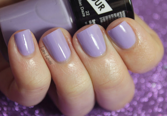 Collection Work the Colour Lilac Daze Nail Polish Swatches & Review