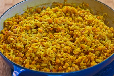 Kalyn's Kitchen®: Recipe for Curried Rice and Red Lentils