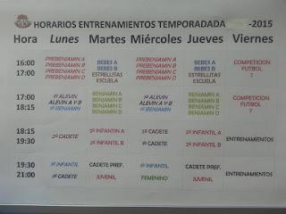 HORARIOS TEMP.15-16